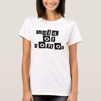 Domestique de l'honneur (noir carré) t-shirt