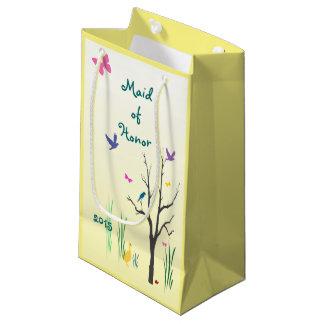 Domestique de mariage de printemps de petit sac de