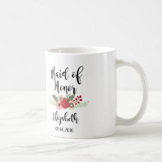 Domestique de tasse de café d'honneur