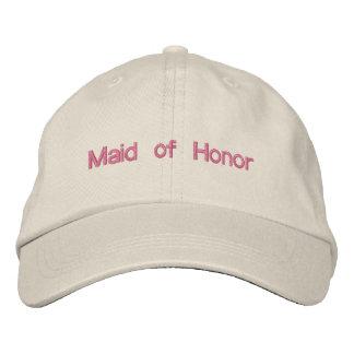Domestique faite sur commande de mariage de casquette brodée