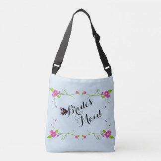 Domestique florale de jeunes mariées tout plus de sac ajustable