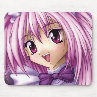 Domestique mignonne de fille d'Anime Tapis De Souris