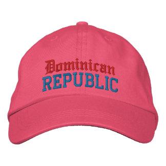 Dominicain, casquette de coutume de République Casquette Brodée