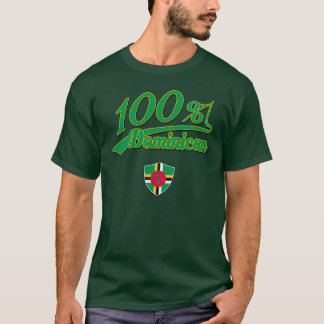 Dominicain de 100% t-shirt