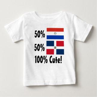 Dominicain du Paraguayer 50% de 50% 100% mignon T-shirt