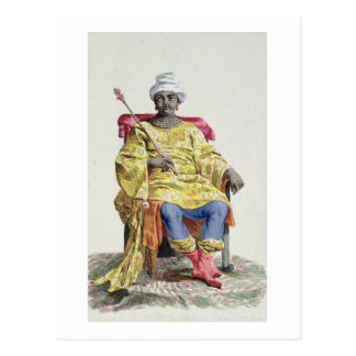 Don Alvares, roi du Congo, du 'DES de Receuil Carte Postale