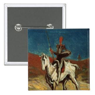Don don Quichotte, c.1865-1870 Badges Avec Agrafe