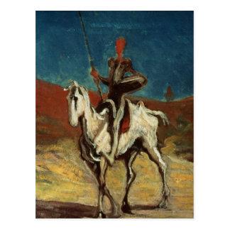 Don don Quichotte, c.1865-1870 Carte Postale