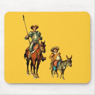 Don don Quichotte et Sancho Panza Tapis De Souris