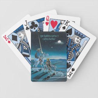 """DON QUIJOTE - par Cervantes """"Que hablen les cartas Jeu De Poker"""
