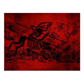 Don Quijote par José Guadalupe Posada Carte Postale