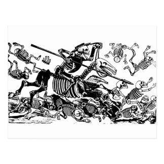 Don Quijote par José Guadalupe Posada Cartes Postales