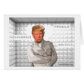 Donald dans une anti peinture d'atout de camisole cartes