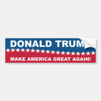 Donald Trump 2016 Autocollant De Voiture