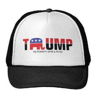 Donald Trump 2016 - Il ne donne pas un fu*k Casquette De Camionneur