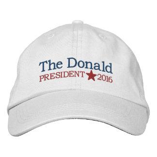 Donald Trump - président 2016 Casquette Brodée