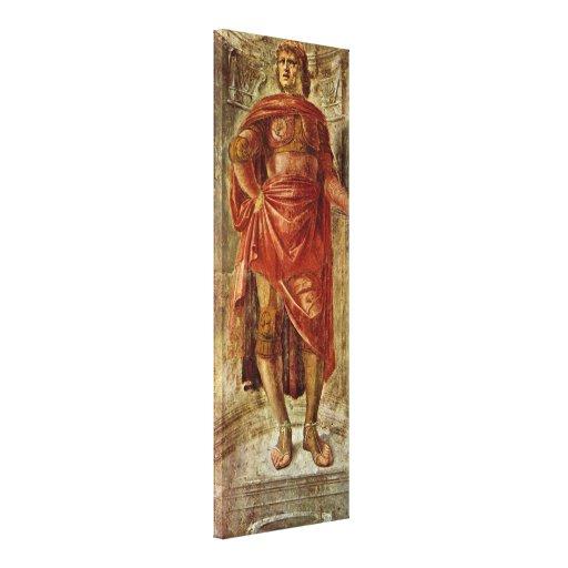 Donato Bramante - héros antique Toile Tendue Sur Châssis