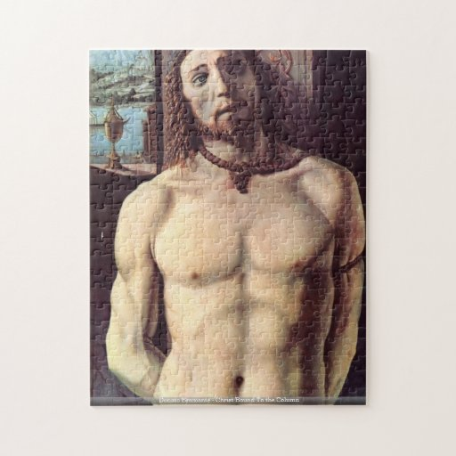 Donato Bramante - le Christ bondissent au puzzl de Puzzle