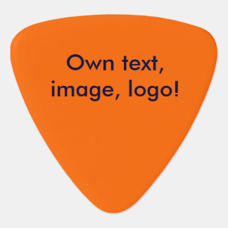 D'onglet de guitare orange uni onglet de guitare