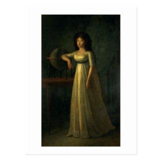 Donna Joaquina Tellez-Giron, fille du duc Carte Postale