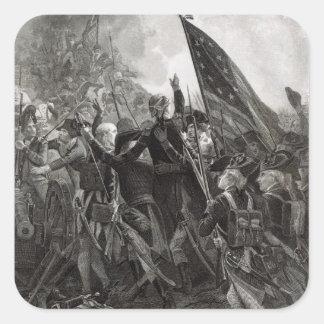 Donner l assaut à du point pierreux juillet 1779 sticker carré