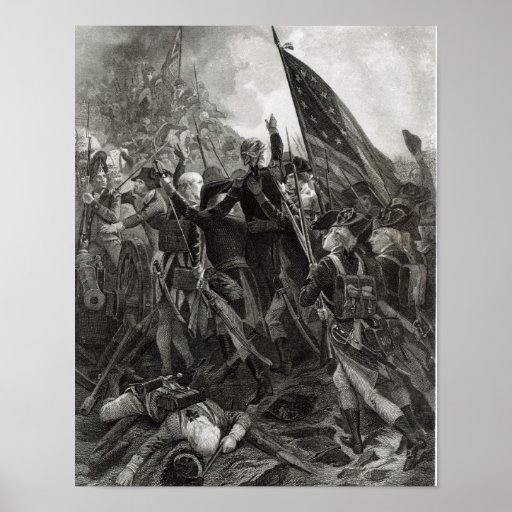 Donner l'assaut à du point pierreux, juillet 1779 affiches