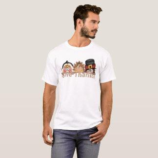 Donnez à des pèlerins de mercis le T-shirt