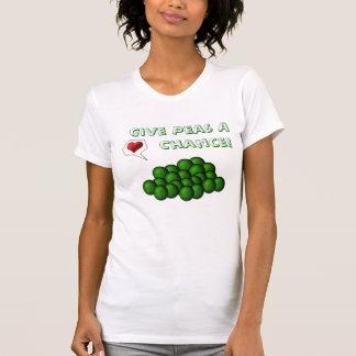 Donnez à des pois une occasion ! t-shirt