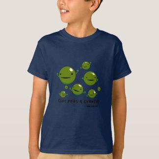 Donnez à des pois une occasion t-shirt