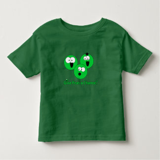 Donnez à des pois une occasion t-shirt pour les tous petits