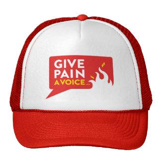 Donnez à douleur une voix casquette