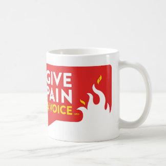 Donnez à douleur une voix mug