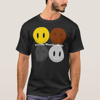 Donnez au monde un sourire 1 t-shirt