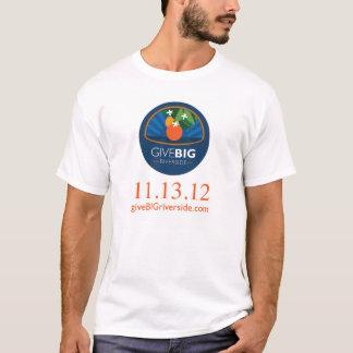 Donnez le GRAND T-shirt de rive