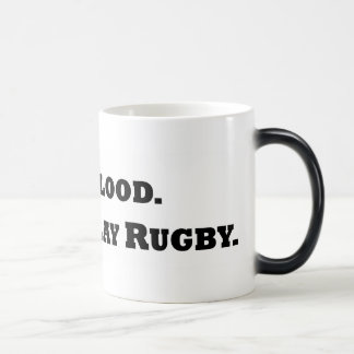 Donnez le sang. Jouez au rugby Mug Magic