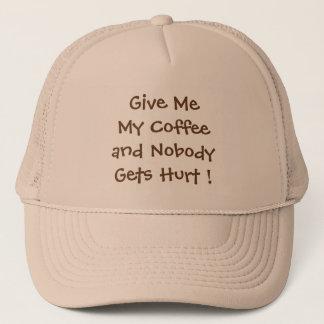 Donnez-moi mon casquette de camionneur de café