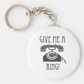 Donnez-moi un anneau porte-clés