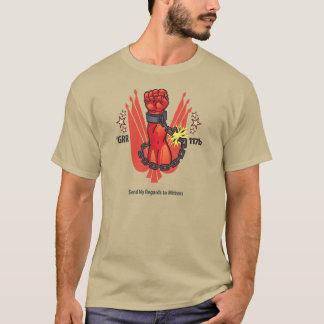Donnez mon respect aux mitaines t-shirt