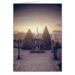 D'or de l'heure d'à de Rodin jardin du musée Carte De Vœux
