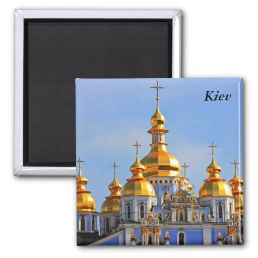 D'or fait face de dans la cathédrale à Kiev, Kiev Aimant