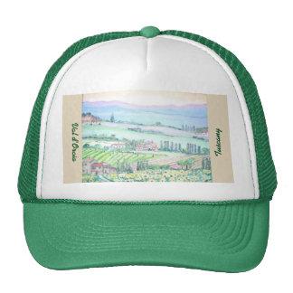 d'Orcia de Val, casquette de camionneur