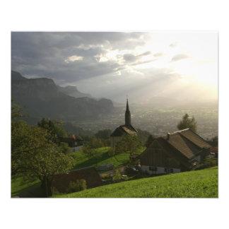 Dornbirn Oberfallenberg Autriche Prospectus 11,4 Cm X 14,2 Cm