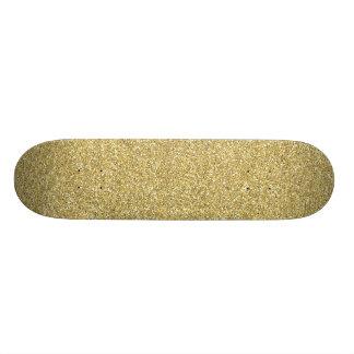 DOS BEIGE CRÈME NEUTRE d'or de glitter3 BLING SAND Planches À Roulettes Customisées