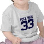 Dos élevé de Polk Bundy T-shirt