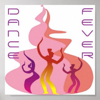 Dossier 11x11 de fièvre de danse affiche