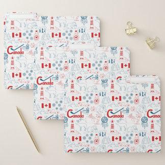 Dossier Motif de symboles du Canada  