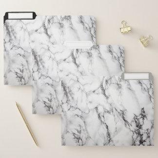 Dossier Texture de marbre blanche et noire naturelle