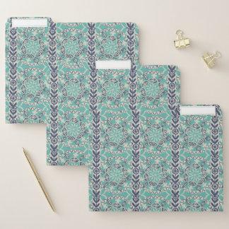 Dossier Tuile bleue I de batik