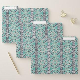 Dossier Tuile bleue IV de batik