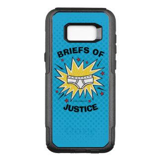 Dossiers de capitaine Underpants   de justice Coque Samsung Galaxy S8+ Par OtterBox Commuter